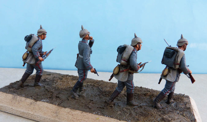 Assaut allemand en 1914  Revell (ICM) 1/35 Infant20