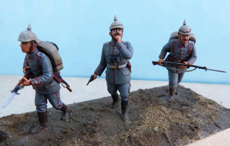 Assaut allemand en 1914  Revell (ICM) 1/35 Infant23