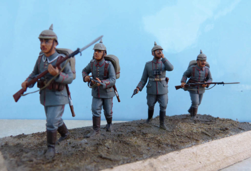 Assaut allemand en 1914  Revell (ICM) 1/35 Infant24