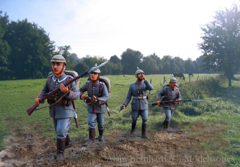 Assaut allemand en 1914  Revell (ICM) 1/35 Infant27