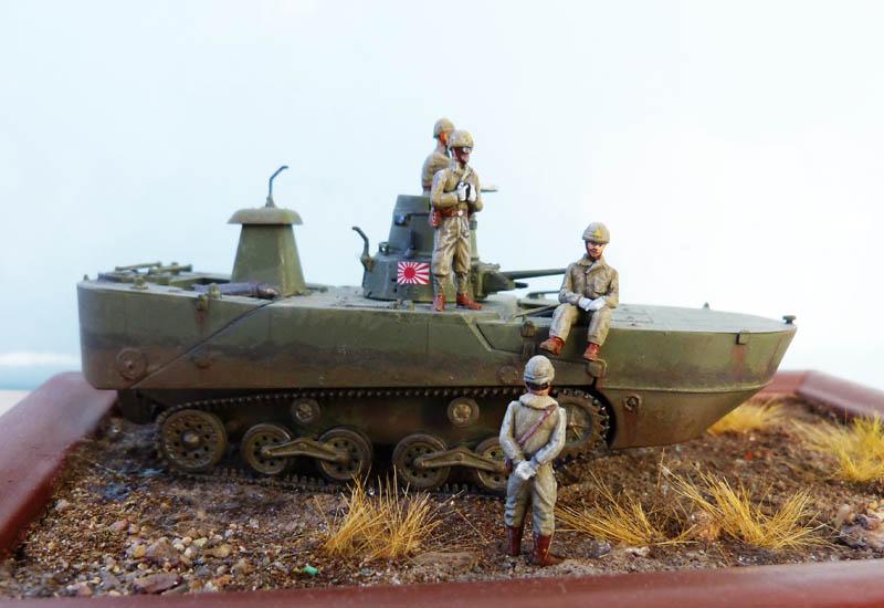"""""""Ka-Mi"""" amphibie japonais aux Aléoutiennes - Dragon - 1/72. Kami_510"""