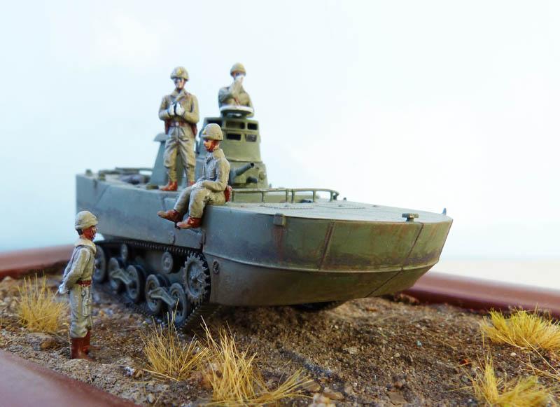 """""""Ka-Mi"""" amphibie japonais aux Aléoutiennes - Dragon - 1/72. Kami_613"""