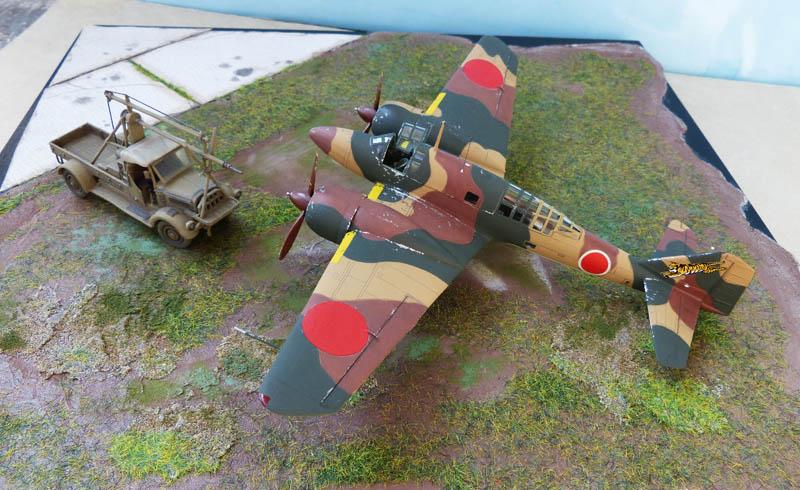 """Mitsubishi Ki 46 """"Dinah"""" - Hasegawa - 1/72. Ki46_613"""