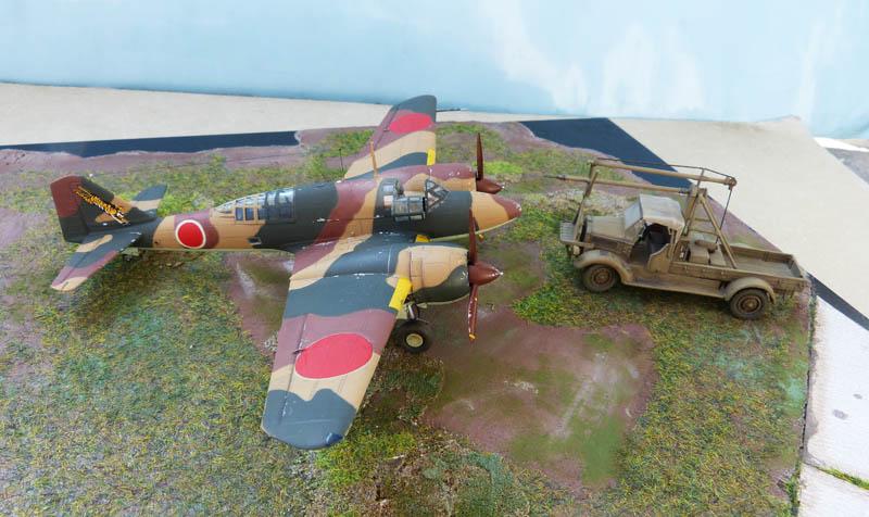 """Mitsubishi Ki 46 """"Dinah"""" - Hasegawa - 1/72. Ki46_711"""