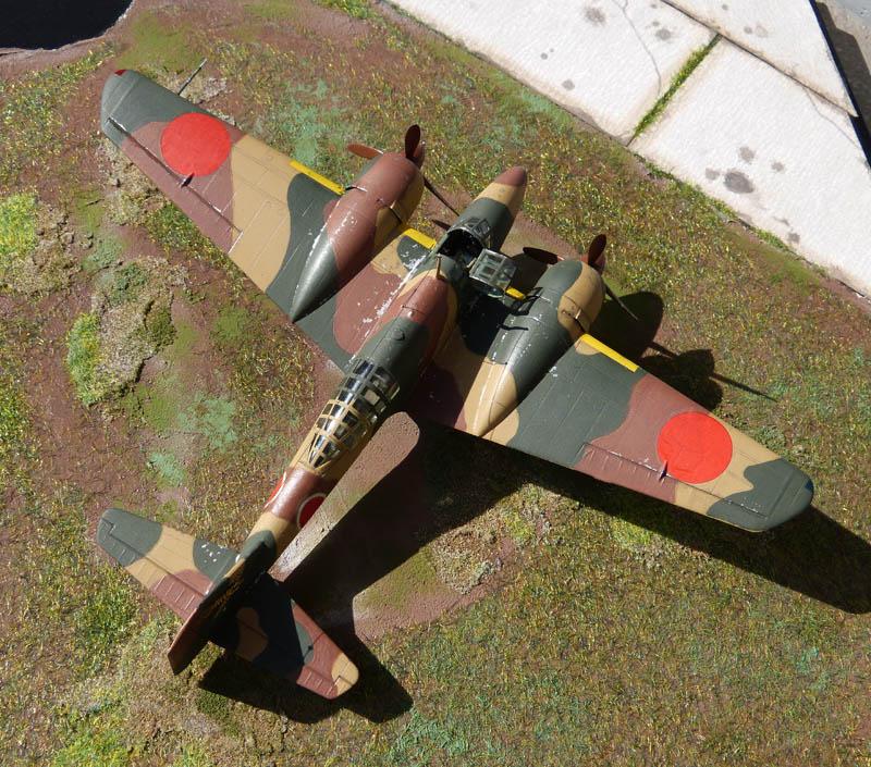 """Mitsubishi Ki 46 """"Dinah"""" - Hasegawa - 1/72. Ki46_714"""