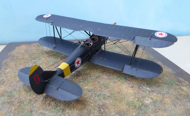 Polikarpov Po2 Nord Coréen   ICM. 1/72. Po2cor12