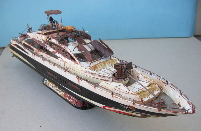"Yach Predator ""WaterWorld"" - Conversion Revell - 1/72. Predat11"