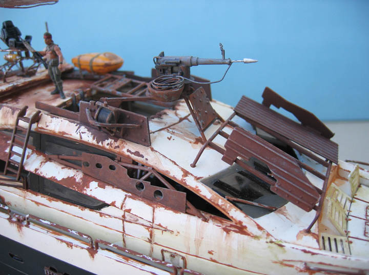"Yach Predator ""WaterWorld"" - Conversion Revell - 1/72. Predat15"