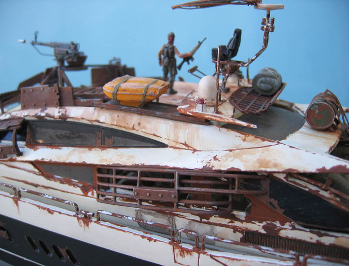 "Yach Predator ""WaterWorld"" - Conversion Revell - 1/72. Predat16"