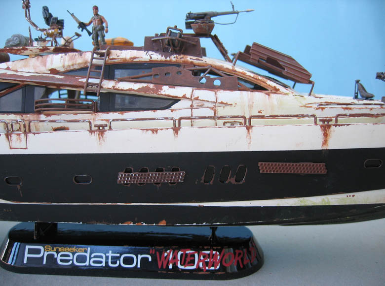 "Yach Predator ""WaterWorld"" - Conversion Revell - 1/72. Predat17"