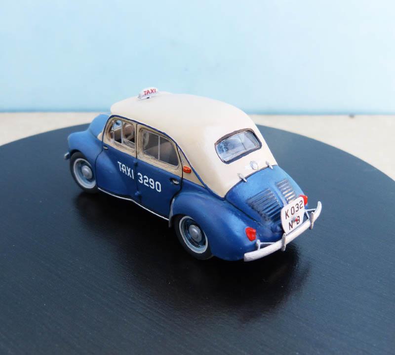 """Renault 4CV """"Taxi de Saigon"""" - Heller - 1/43. Taxisa12"""