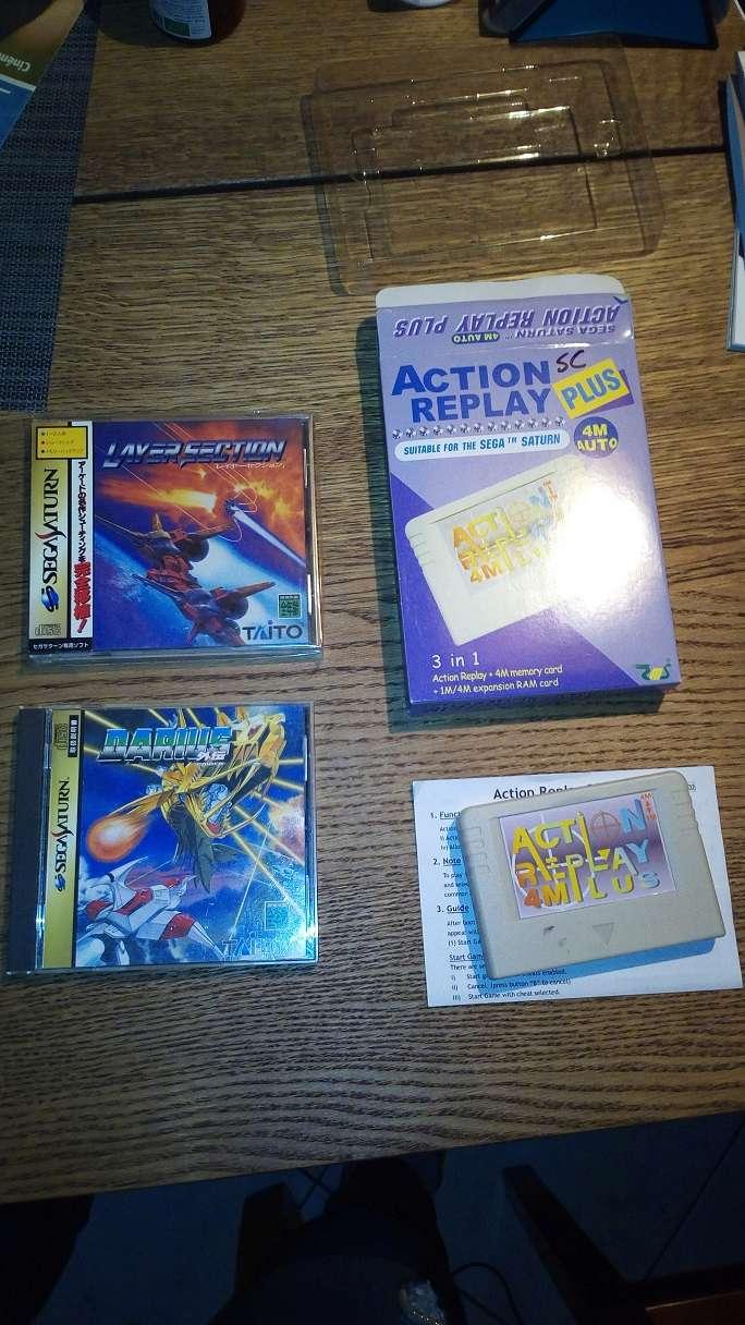 [VDS] Saturn console, ARpucée, 2 jeux CHANGEMENT DE PRIX Sat311