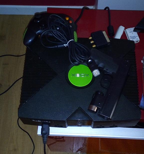 VENDU: X BOX modif Coinops prix réduit Xbox10