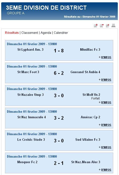St Marc Foot 3  [6 - 2]  Guérande St Aubin 4 (Dimanche 1er Février 2009) Senior13