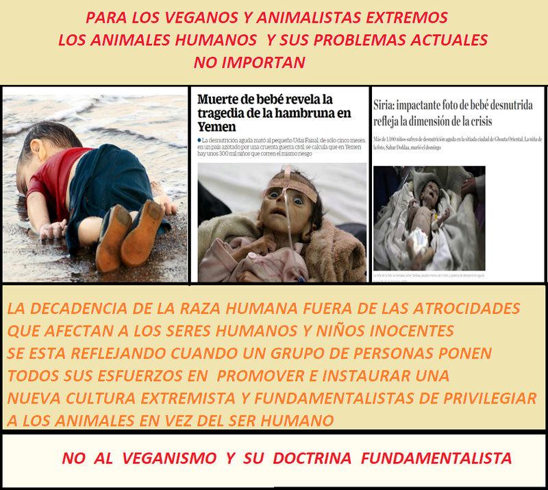 DI NO AL VEGANISMO Y SU DOCTRINA FUNDAMENTALISTA Antive10