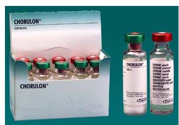 CHORULON -- HORMONA PARA  PROBLEMAS DE REPRODUCCION Chorul10