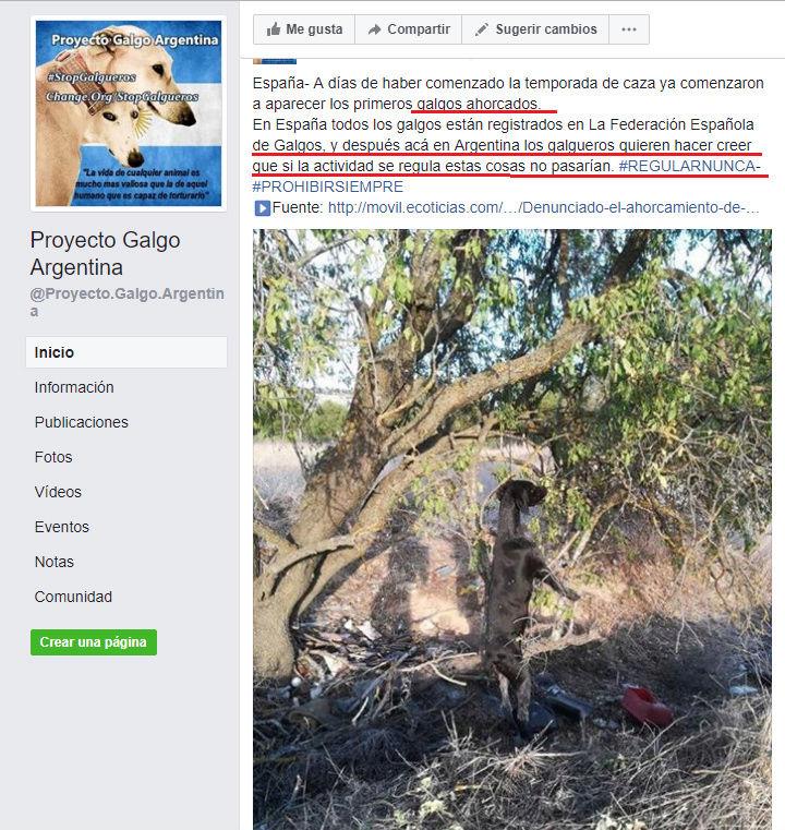PGA PAGINA DE ODIO - WEB ARGENTINA VEGANISTA INCITA AL ODIO A LOS SERES HUMANOS Pacma410