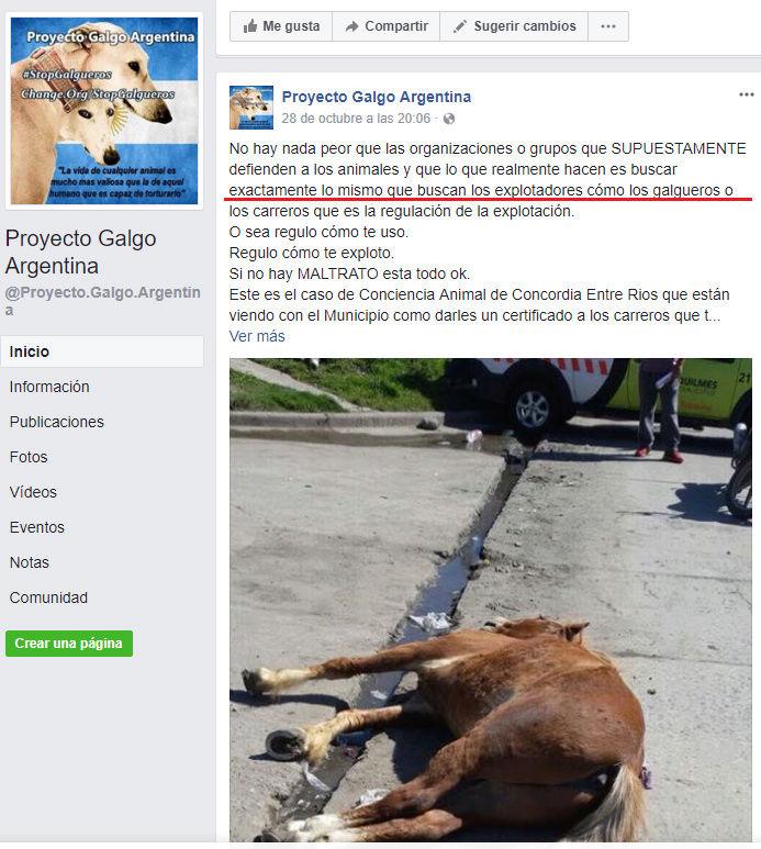 PGA PAGINA DE ODIO - WEB ARGENTINA VEGANISTA INCITA AL ODIO A LOS SERES HUMANOS Pacma_10