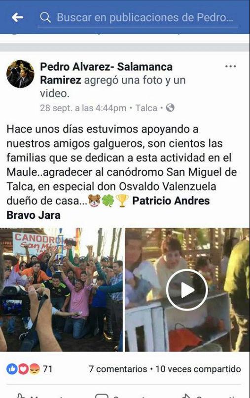 POLÍTICOS QUE APOYAN A GALGUEROS Y LAS TRADICIONES DE CHILE Salamc10