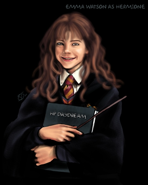 Harry Potter version manga (fanarts) Hermio10