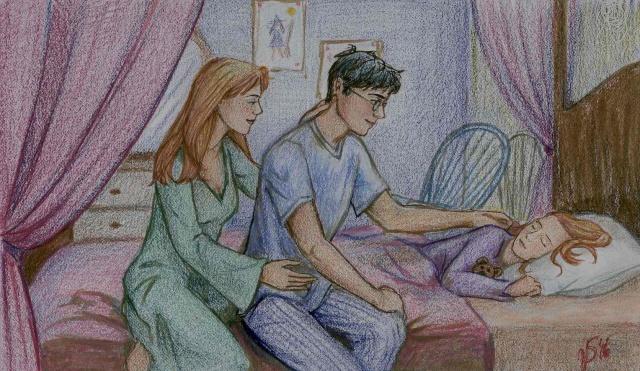 Harry Potter version manga (fanarts) Inherr10