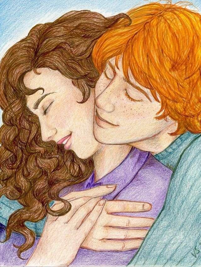 Harry Potter version manga (fanarts) Rhrfin10