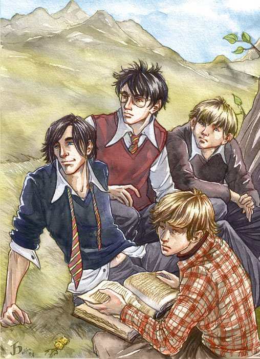 Harry Potter version manga (fanarts) Wp_mar10