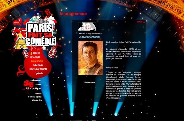 La Nuit de Kaamelott (au Grand Rex) 25/03/2009 Image810