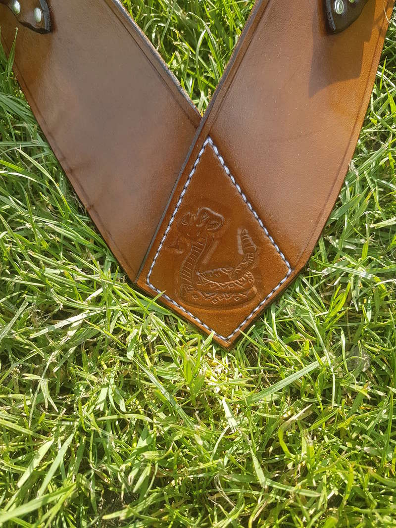 Bandolier et portes badges OUTDOOR LEATHER 20180511