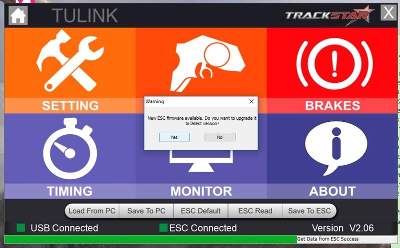 Programmation impossible ESC Turnigy trackstar 120 A Tp0110