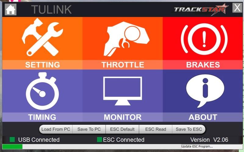 Programmation impossible ESC Turnigy trackstar 120 A Tp0210