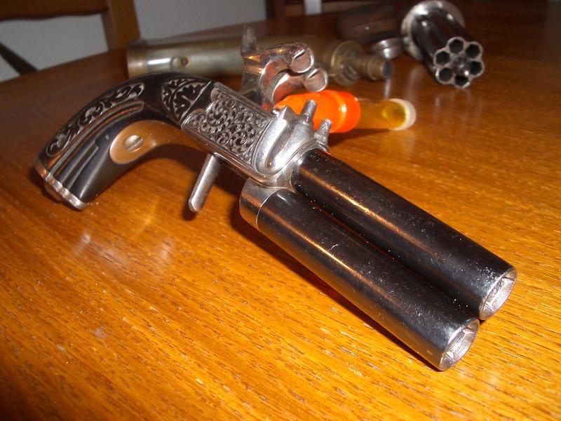 Pistolet 2 canons superposés Imgp4119