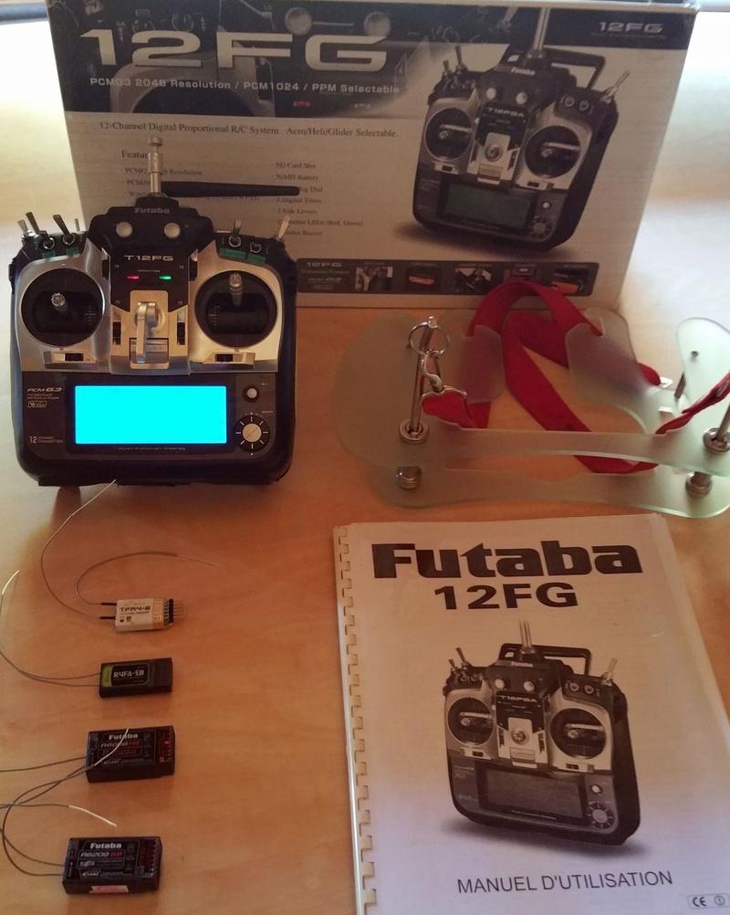 A vendre émetteur Futaba T12FG et récepteurs 20180514