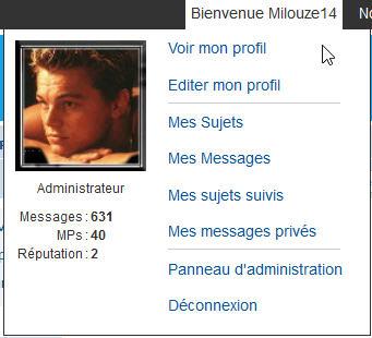[PHPBB3] Afficher l'id/ami et brouillon dans le Welcome de la toolbar 140