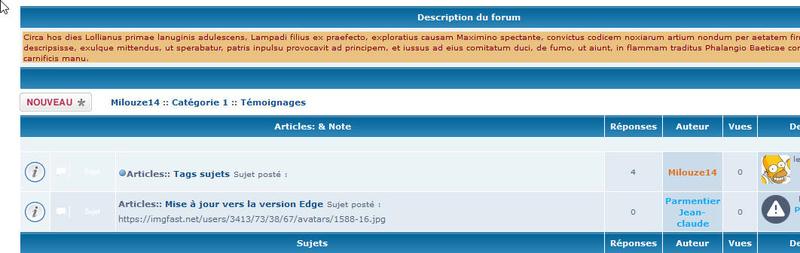 [PHPBB2] Afficher la description du forum dans la liste des sujets 245
