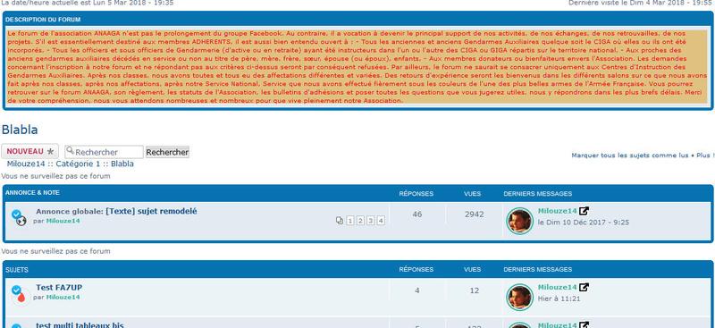 [PHPBB3] Afficher la description du forum dans la liste des sujets 246