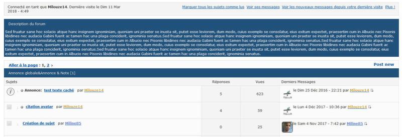 [PUNBB] Afficher la description du forum dans la liste des sujets 248