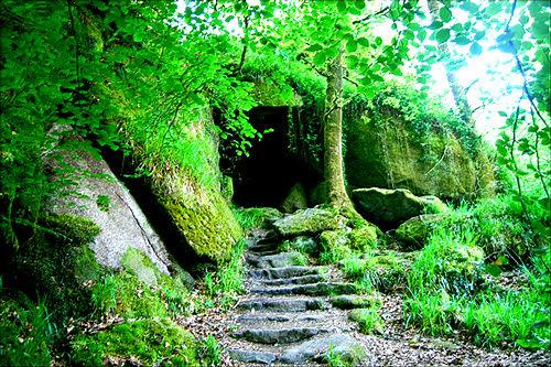 L'entrée de la boucle temporelle Grotte10