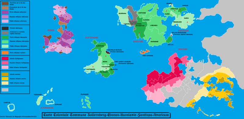 Revendication territoriale de l'île d'Ardanie par la LED Carte_10