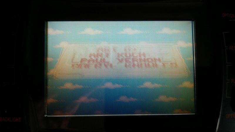 lynx 2 pixel blanc sur écran Img_2011