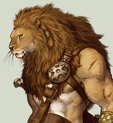 Les races Lion210