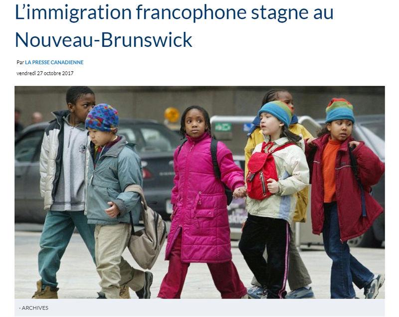 Immigration : les provinces atlantiques font du surplace 111
