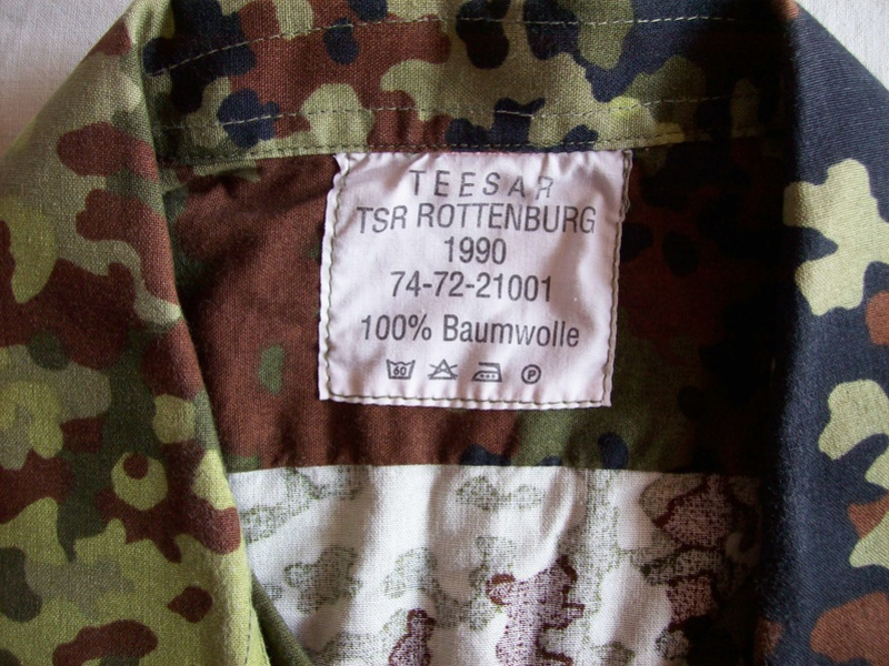 Early Flecktarn Camo  100_3415