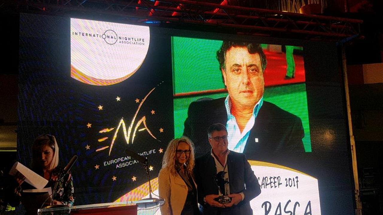 "Al Presidente Silb Maurizio Pasca il riconoscimento ""Best Nightlife Career"" 6f45a510"