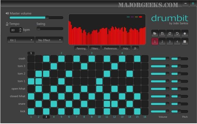 DrumBit – Drum machine online Drumbi10