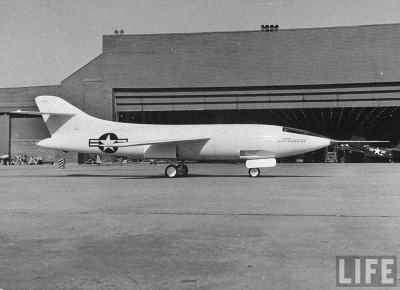 Douglas D-588-II ''Skyrocket'' casseur de Mach (1:72 Special Hobby) 9318c510
