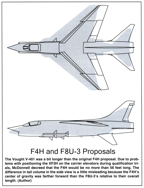 Vought XF8U-3 CRUSADER III V-401 [1/72 - Anigrand] - Page 2 Compar14
