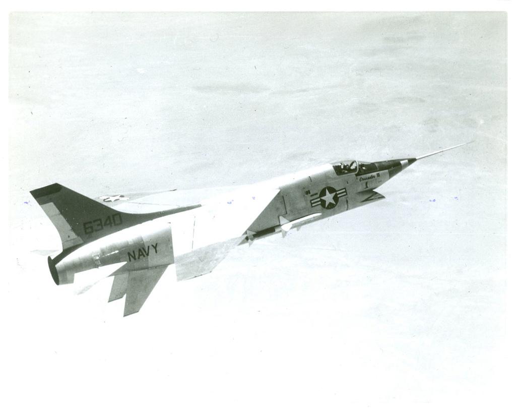 Vought XF8U-3 CRUSADER III V-401 [1/72 - Anigrand] F8u-3_11