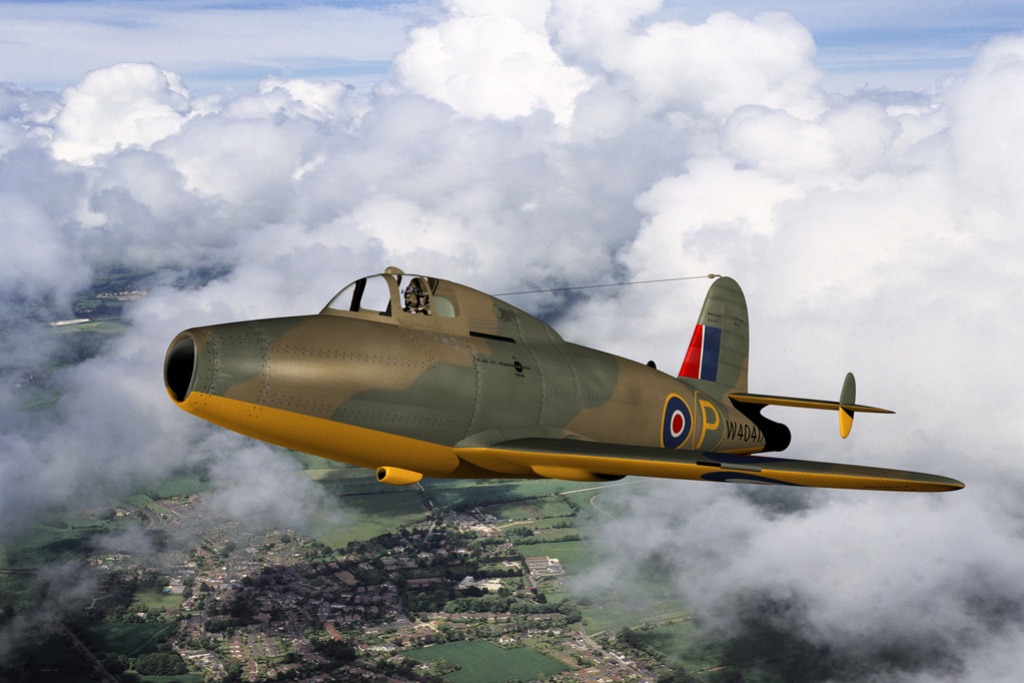 "Gloster E.28/39  ""Whittle"" (1:72 High-Planes Models) Gloste12"
