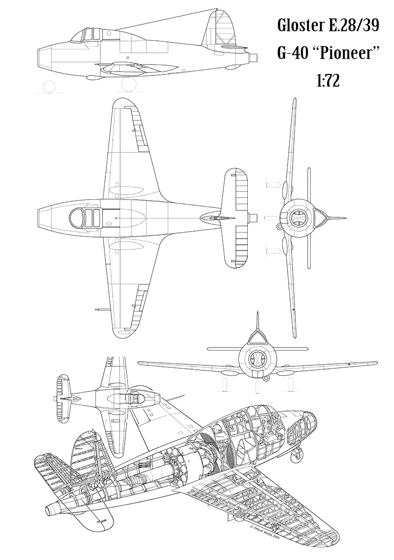 "Gloster E.28/39  ""Whittle"" (1:72 High-Planes Models) Gloste17"